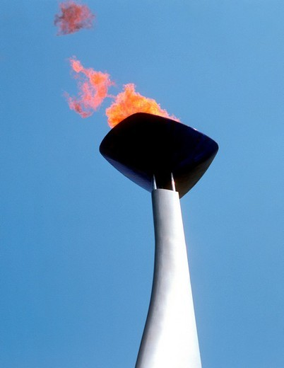 Stock Photo: 3153-780883 olympic torch