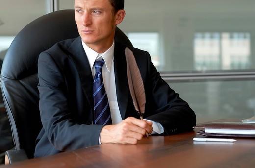 Stock Photo: 3153-781358 man, office