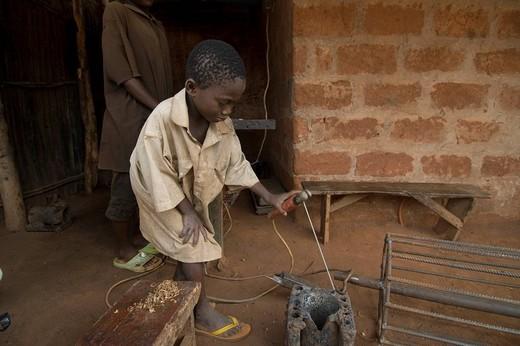 benin, africa : Stock Photo
