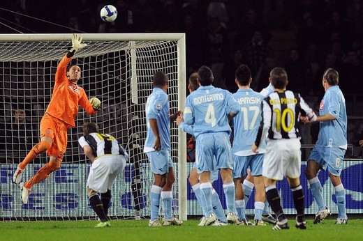 nicolas navarro, torino 2009, serie a 2008_2009 football championship, juventus_napoli : Stock Photo
