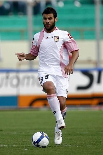 antonio nocerino,catania 18_10_2008 ,serie a football championship 2008/2009 ,catania_palermo _0,photo p.barone/markanews : Stock Photo