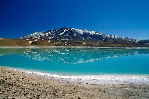 Stock Photo: 3153-786448 bolivia, laguna colorada