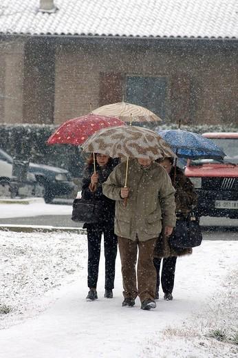 Stock Photo: 3153-789140 snowfall