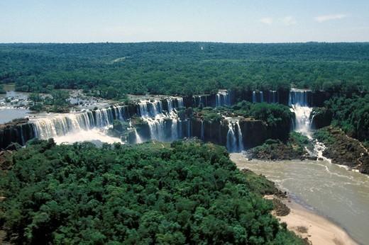 brazil, iguacu falls : Stock Photo