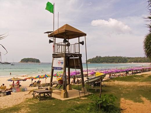 asia, thailand, phuket, kata bay, beach : Stock Photo