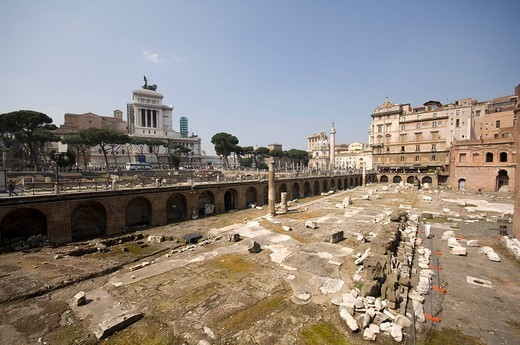 Stock Photo: 3153-791661 trajan´s market, rome, lazio, italy