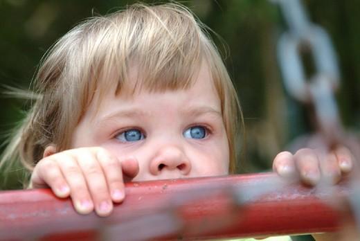 little girl, portrait : Stock Photo