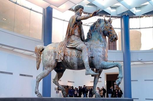 europe, italy, lazio, rome, capitolino museum : Stock Photo