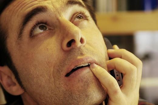 man, face : Stock Photo