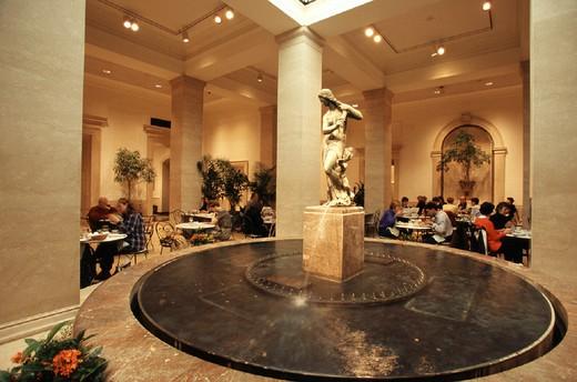 usa, washington d.c., national gallery of art garden cafË : Stock Photo