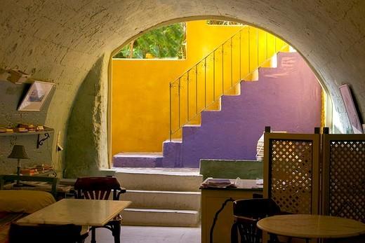 Stock Photo: 3153-794776 europe, greece, island of rhodes, rhodes, restaurant