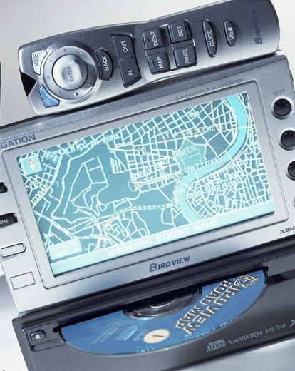 Stock Photo: 3153-795761 gps, global positioning system