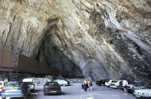 Stock Photo: 3153-796076 niaux cave, tarascon, france