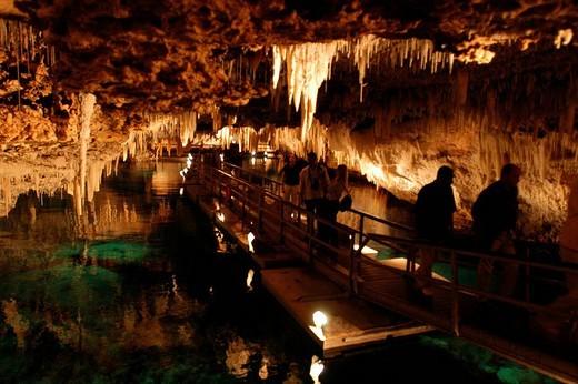 Stock Photo: 3153-797049 bermuda, crystal cave, in the hamilton parish