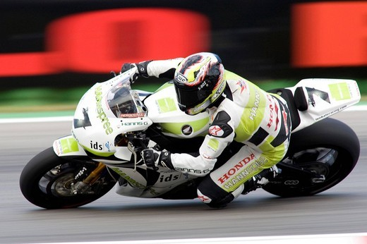 carlos checa, misano 2009. superbike, san marino gp : Stock Photo