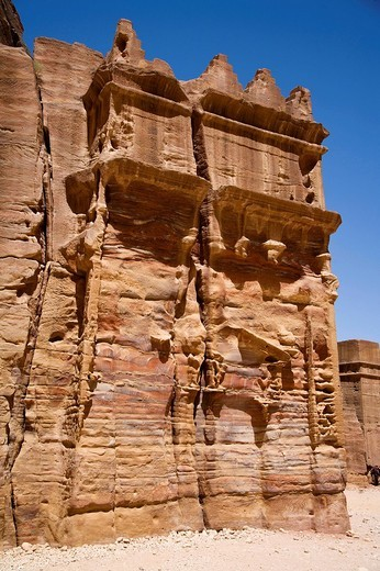 petra, giordania, medio oriente, asia : Stock Photo