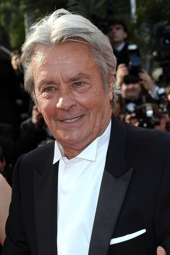 alain delon,63° festival di cannes : Stock Photo