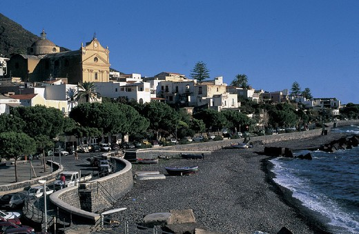 italy, sicily, salina island : Stock Photo