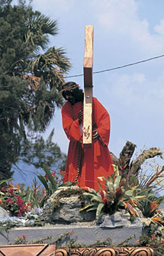 america, guatemala, antigua, semana santa : Stock Photo