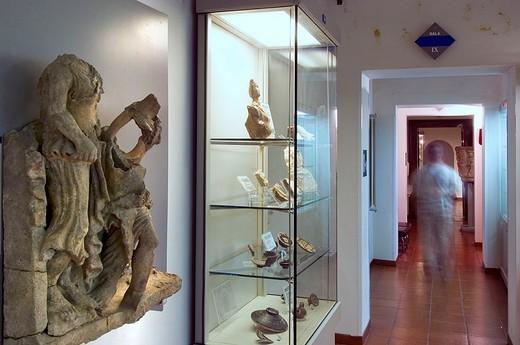 Stock Photo: 3153-802430 italy, lazio, castelli romani, albano, archeological museum