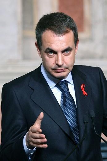 josé luis rodriguez zapatero : Stock Photo