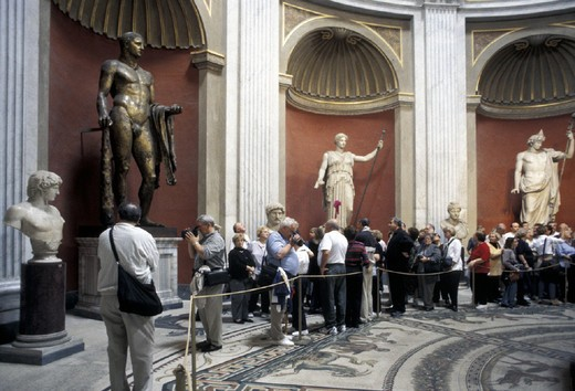 Stock Photo: 3153-803916 italy, lazio, musei vaticani