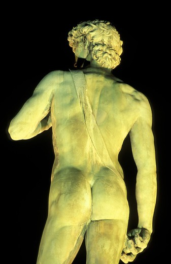 piazzale michelangelo/david statue, florence, italy : Stock Photo