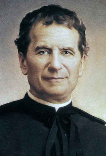 Stock Photo: 3153-805871 holy picture:st. john bosco, studio, italy