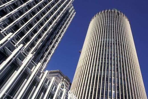 europe tower, madrid, spain : Stock Photo