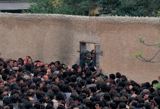 Stock Photo: 3153-809968 albania, tirana, wall of the embassy