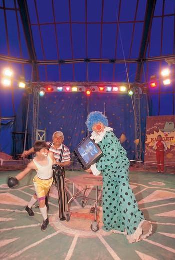 circus, tirana, albania : Stock Photo