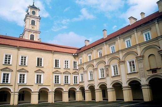 europe, lithuania, vilnius, university : Stock Photo