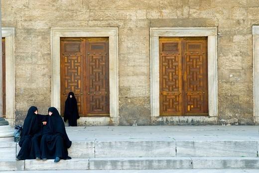 Stock Photo: 3153-812519 europe, turkey, istanbul, yeni cami mosque