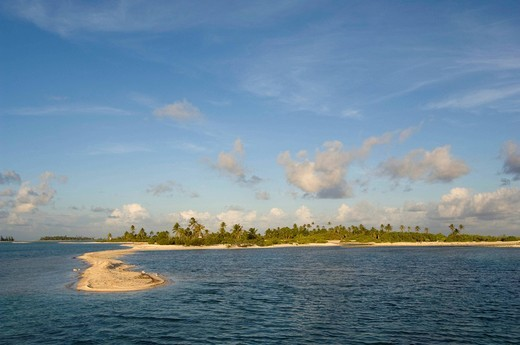 Tikehau, Tuamotu Archipelago, French Polynesia. : Stock Photo