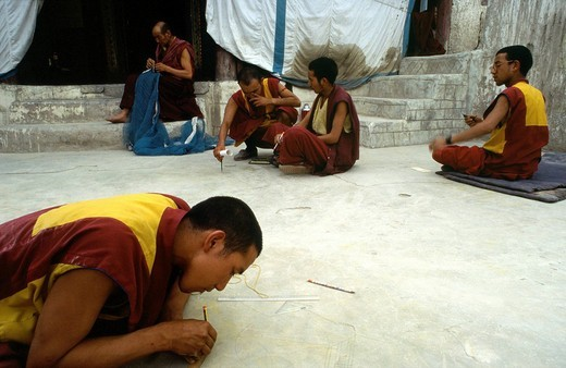 Stock Photo: 3153-812848 ladakh, karakurum, india, asia