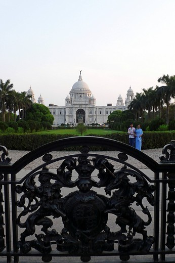 Stock Photo: 3153-812980 victoria memorial, calcutta, india