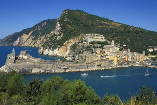 village view, portovenere, italy : Stock Photo