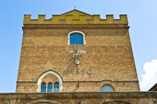 Stock Photo: 3153-817126 palazzo soliano, sede del museo emilio greco e del museo dell´opera del duomo, orvieto, umbria