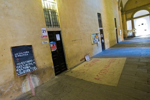 Academy of Fine Arts, Accademia Brera, Milan, italy : Stock Photo