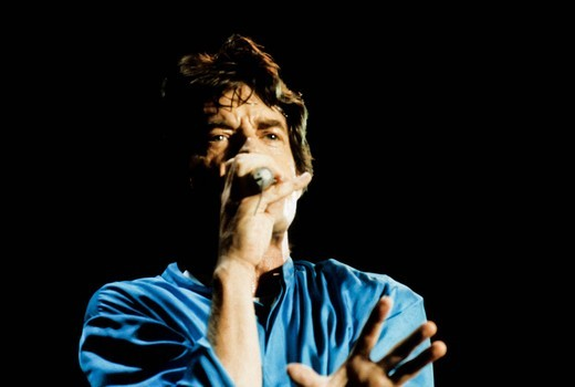 Stock Photo: 3153-820112 rolling stones, mick jagger