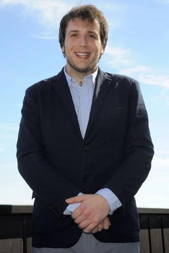 raphael gualazzi, sanremo 2011, 61° festival di sanremo : Stock Photo