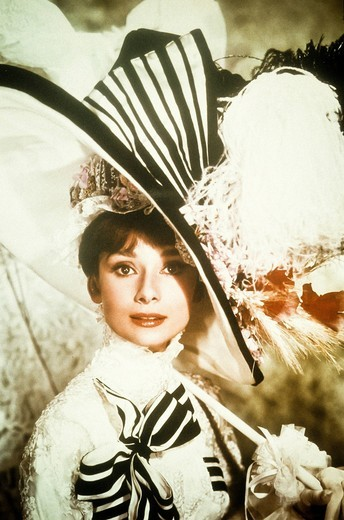 Stock Photo: 3153-822278 audrey hepburn in my fair lady