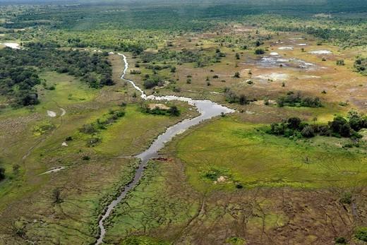 Stock Photo: 3153-822424 chobe national park, botswana