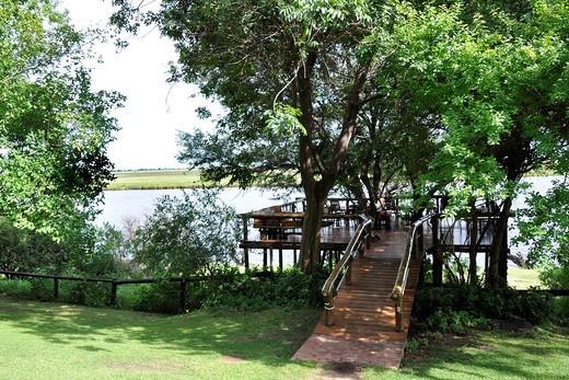 Stock Photo: 3153-822752 chobe game lodge, chobe national park, botswana