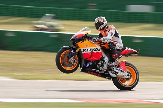 misano, 2010, moto gp gran premio di san marino, andrea dovizioso : Stock Photo