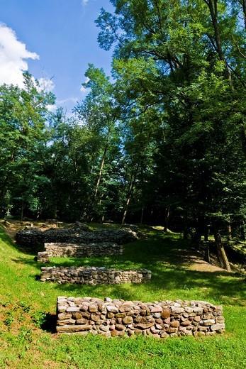 Stock Photo: 3153-823430 Castelseprio, Varese province, Lombardy, Italy. Castelseprio, Varese province, Lombardy, Italy