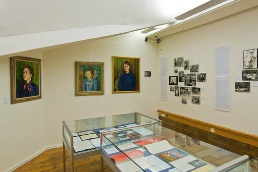 Stock Photo: 3153-823835 Hermann Hesse museum, Montagnola, Switzerland. Hermann Hesse museum, Montagnola, Switzerland
