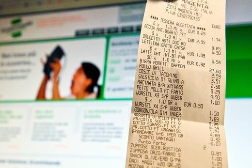 Stock Photo: 3153-824275 scontrinando Online service. scontrinando Online service