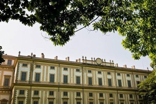 Villa Reale, Monza, Italy. Villa Reale, Monza, Italy : Stock Photo