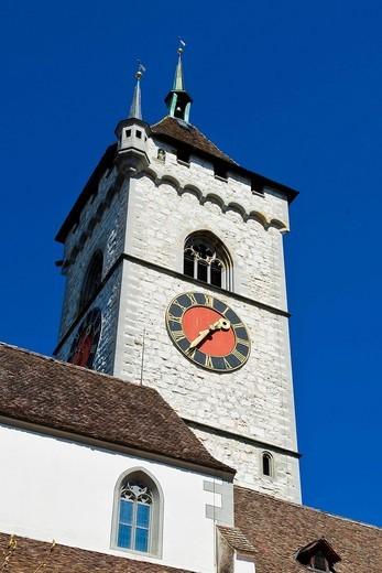 St. Johann church, Schaffhausen, Switzerland. St. Johann church, Schaffhausen, Switzerland : Stock Photo